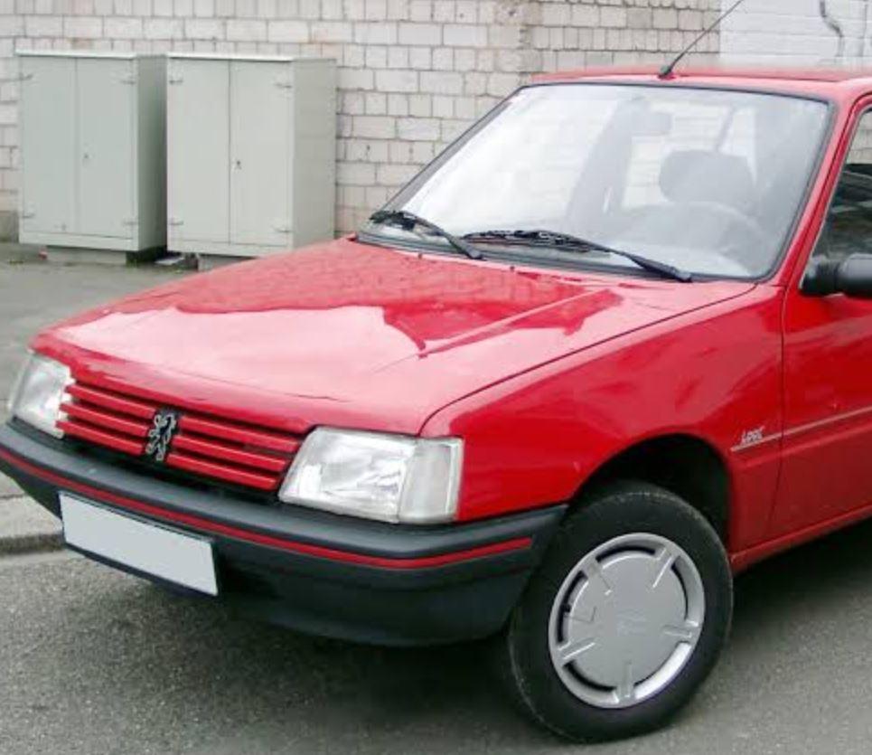 سيارة بيجو 205 موديل 1992