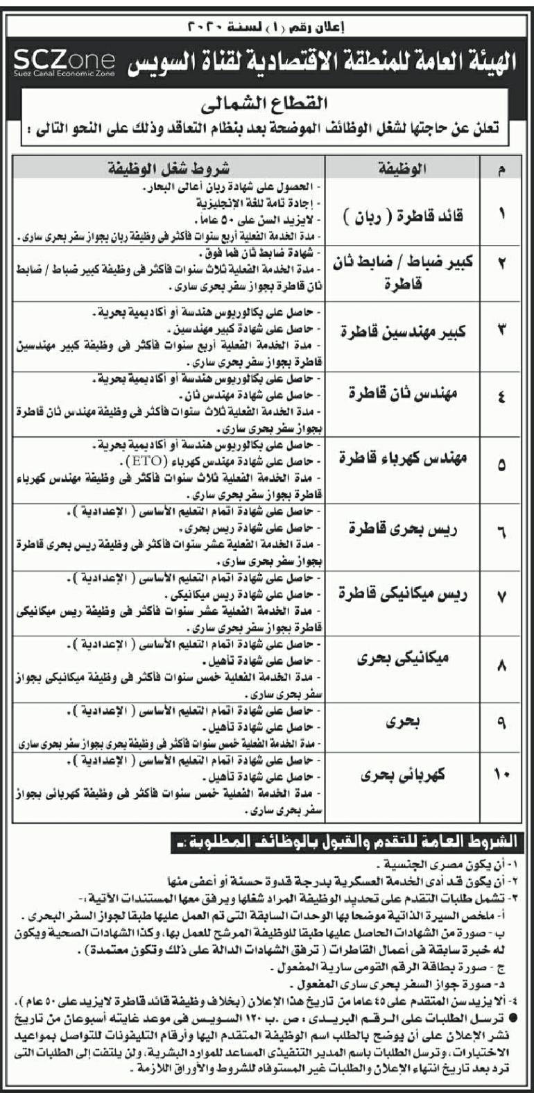 وظائف الأهرام الجمعة 6/3/2020.. جريدة الاهرام المصرية وظائف خالية 5