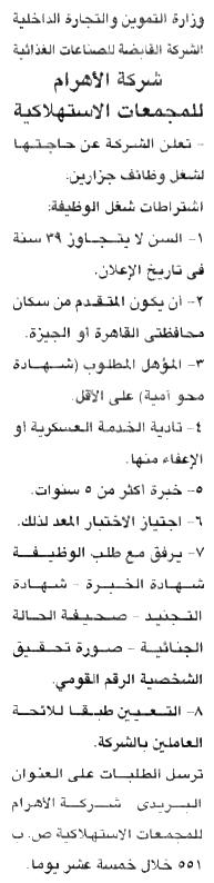 فرص عمل في مصر 2020 2