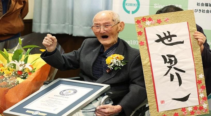 توفى قبل أن يُكمل عامه الـ 113 تعرّف على أكبر معمر في العالم