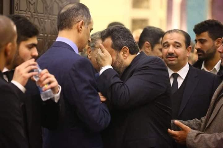 بالصور| بين وجوه الماضي والحاضر.. مشاهير المجتمع في عزاء مبارك 1