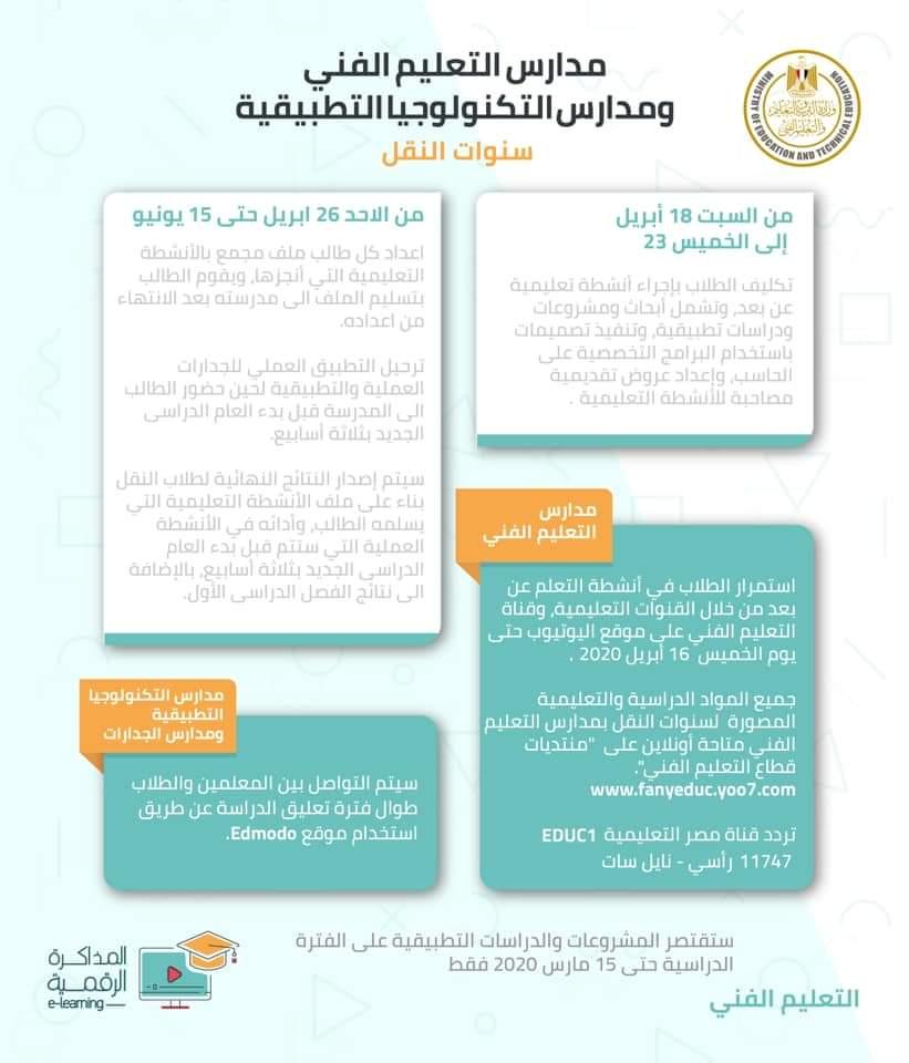 قرارات وزير التربية والتعليم للتيسير على طلاب جميع الصفوف الدراسية 1