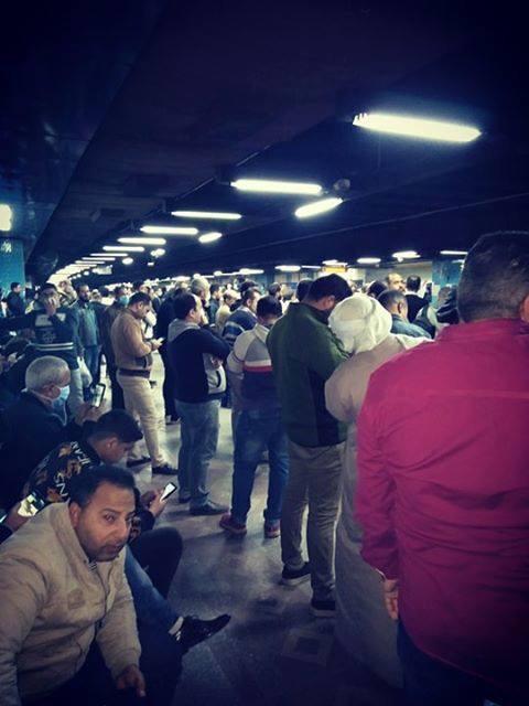 بالصور | زحام كبير في المترو اليوم قبل تنفيذ حظر التجوال 4