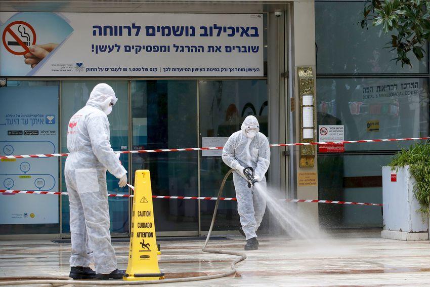 ارتفاع المصابين بفيروس كورونا إلي 945 حالة في إسرائيل
