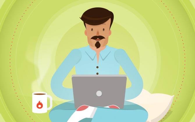 العمل من المنزل يتطلب عدة خطوات للمحافظة علي العمود الفقري أثناء الجلوس لفترات طويلة