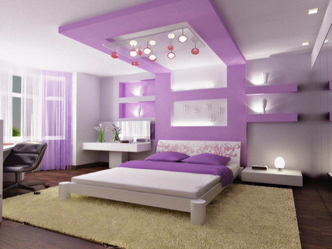 ديكور جبس بورد غرف نوم 2020 7