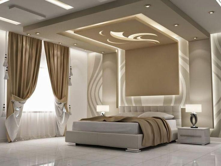 ديكور جبس بورد غرف نوم 2020 9