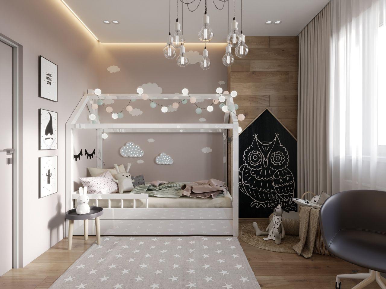 غرف نوم أطفال مودرن 2020 5