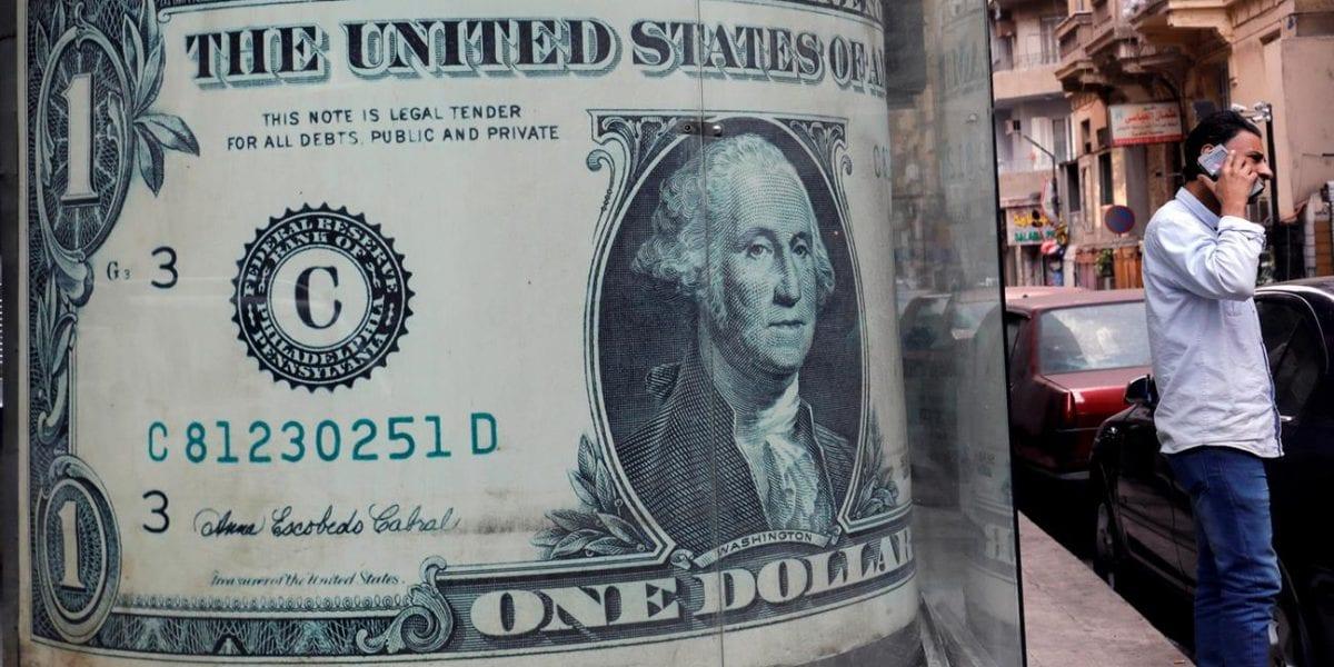 سعر الدولار يحلق لأعلي ويسجل رقم جديد في تعاملات اليوم بالبنوك
