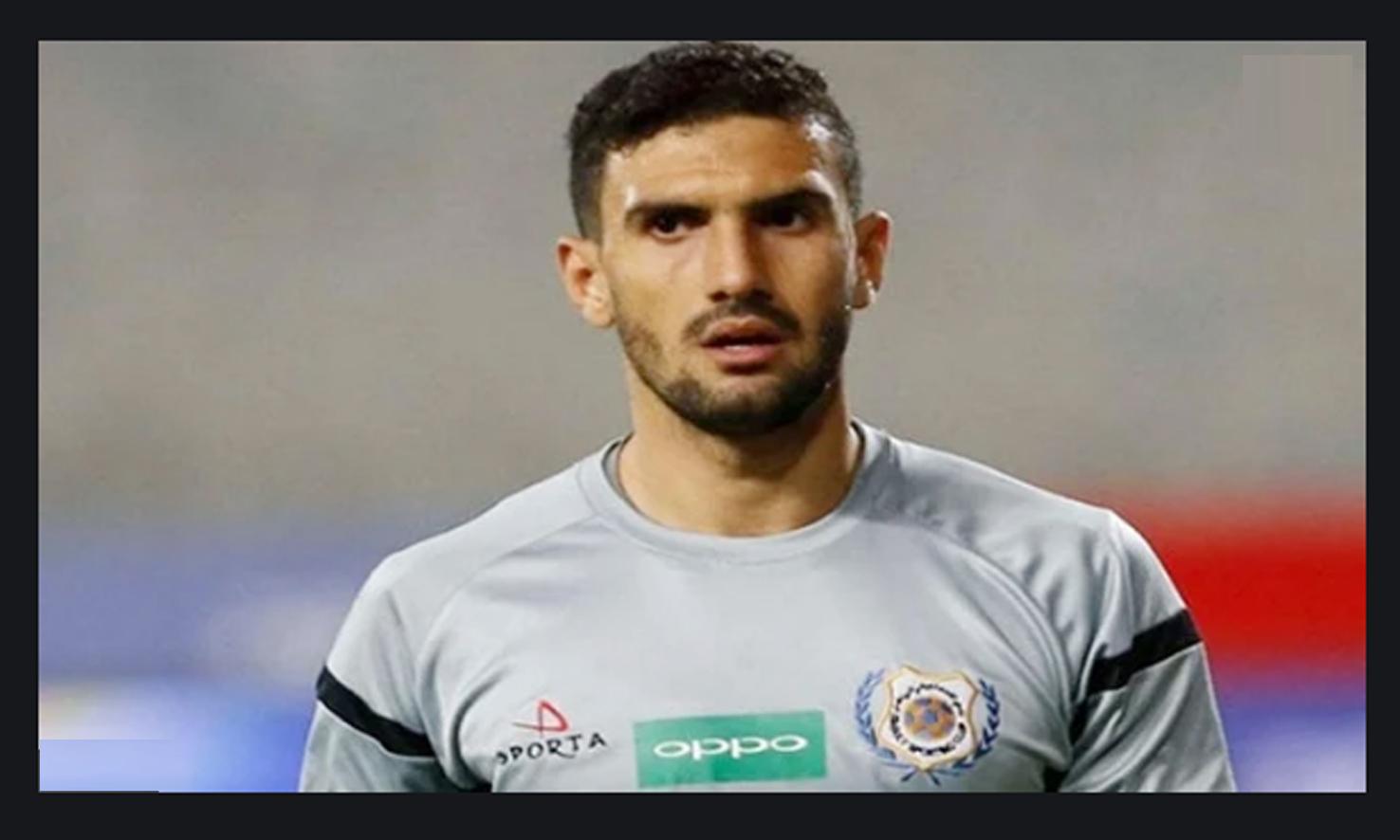 محمد عواد حارس مرمي الزمالك يعلن إصابته بفيروس كورونا