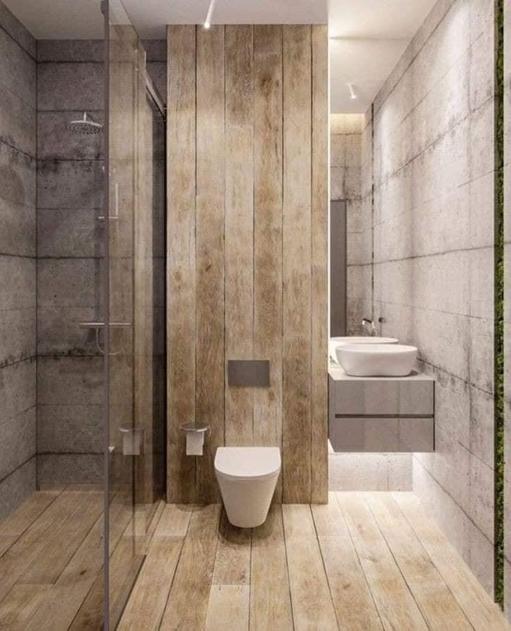 ديكورات حمامات مودرن 2020