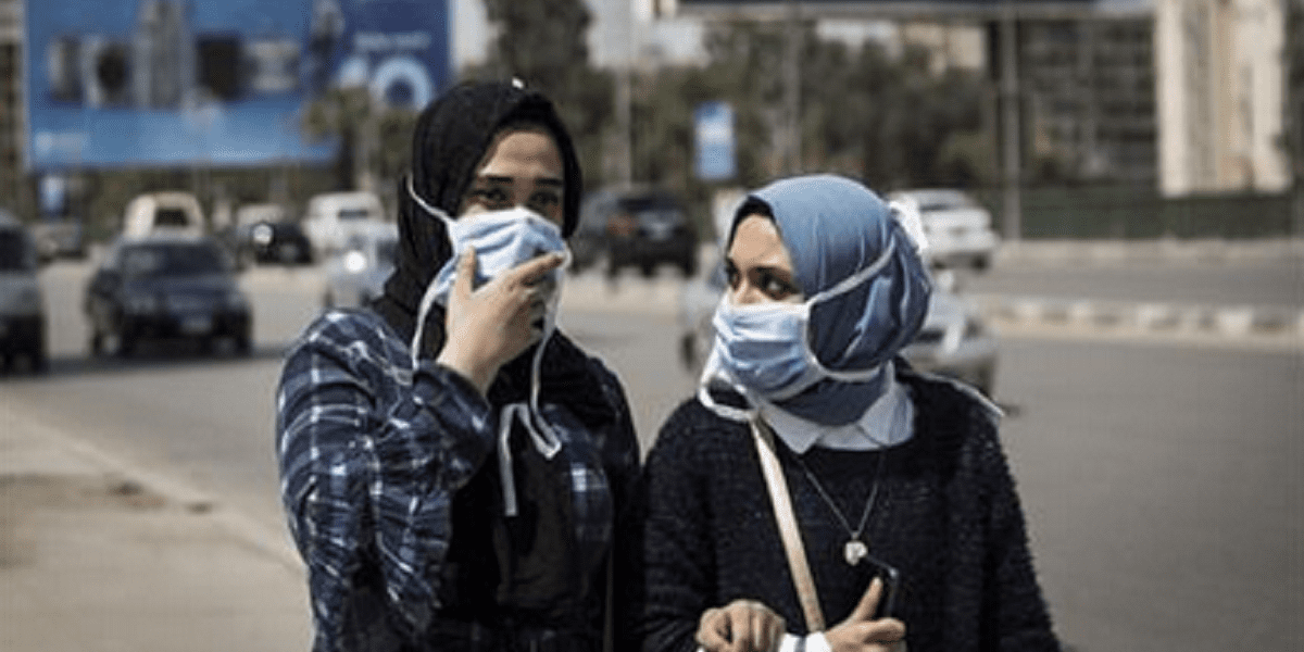 فيديو من داخل أحد الأسواق الشعبية في مصر يكشف حجم مخالفات ارتداء الكمامات