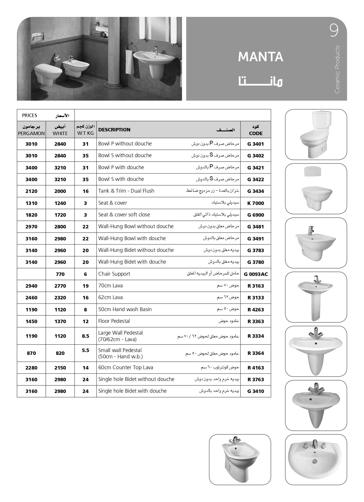 أسعار اطقم حمامات ايديال ستاندرد 2020 تعرف علي أحدث الموديلات وأسعارها 6