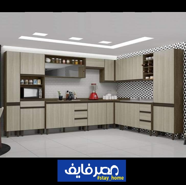 احدث مطابخ الوميتال 2021 تصميمات وألوان جذابة لمطبخ متميز 5