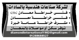 إعلانات وظائف جريدة الوسيط الأسبوعية لجميع المؤهلات 12