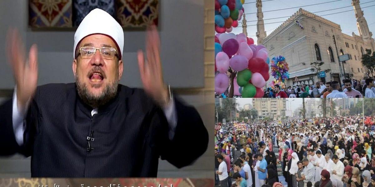 """""""بالفيديو"""" وزير الأوقاف يعلن ضوابط صلاة عيد الأضحى غداً ويعلق على عودة صلاة الجمعة بالمساجد"""