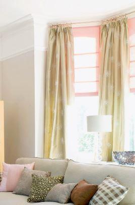 أفكار لستائر غرفة المعيشة تعطي الحياة لمنزلك 6