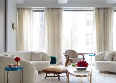 أفكار لستائر غرفة المعيشة تعطي الحياة لمنزلك 8