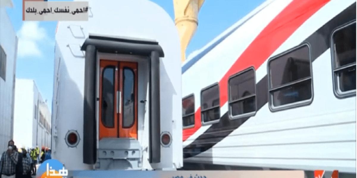 سكك حديد مصر  عربات الدرجة الثالثة مكيفة لأول مرة في مصر.. ورسلان يكشف التفاصيل فيديو