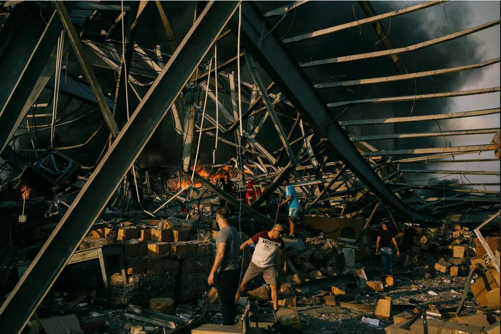 صور القمر الصناعي تظهر حجم الدمار في بيروت