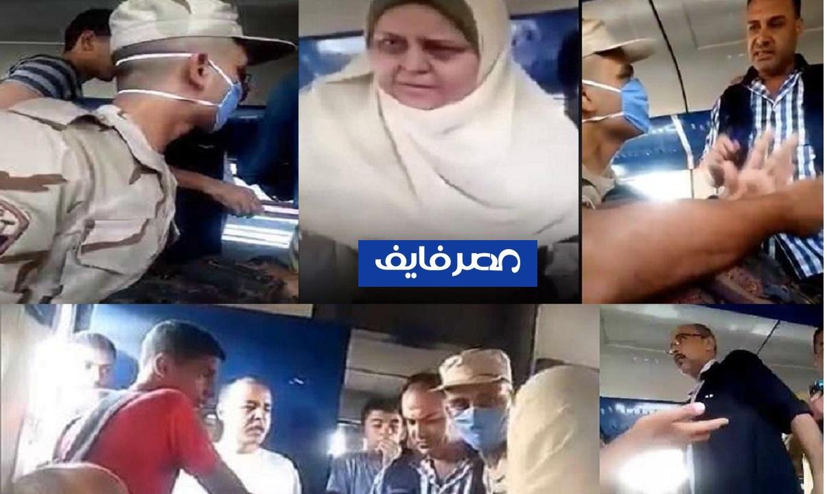 """""""واقعة المجند والكمسري والأم المصرية"""" القوات المسلحة تصدر بياناً رسمياً على واقعة قطار المنصورة"""