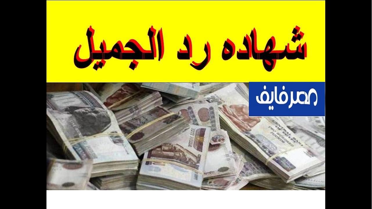 """""""بعد إلغاء بنكي مصر والأهلي لشهادة الـ15%"""" تفاصيل شهادة رد الجميل بعائد 15.5% الأعلى عائد في مصر 1"""
