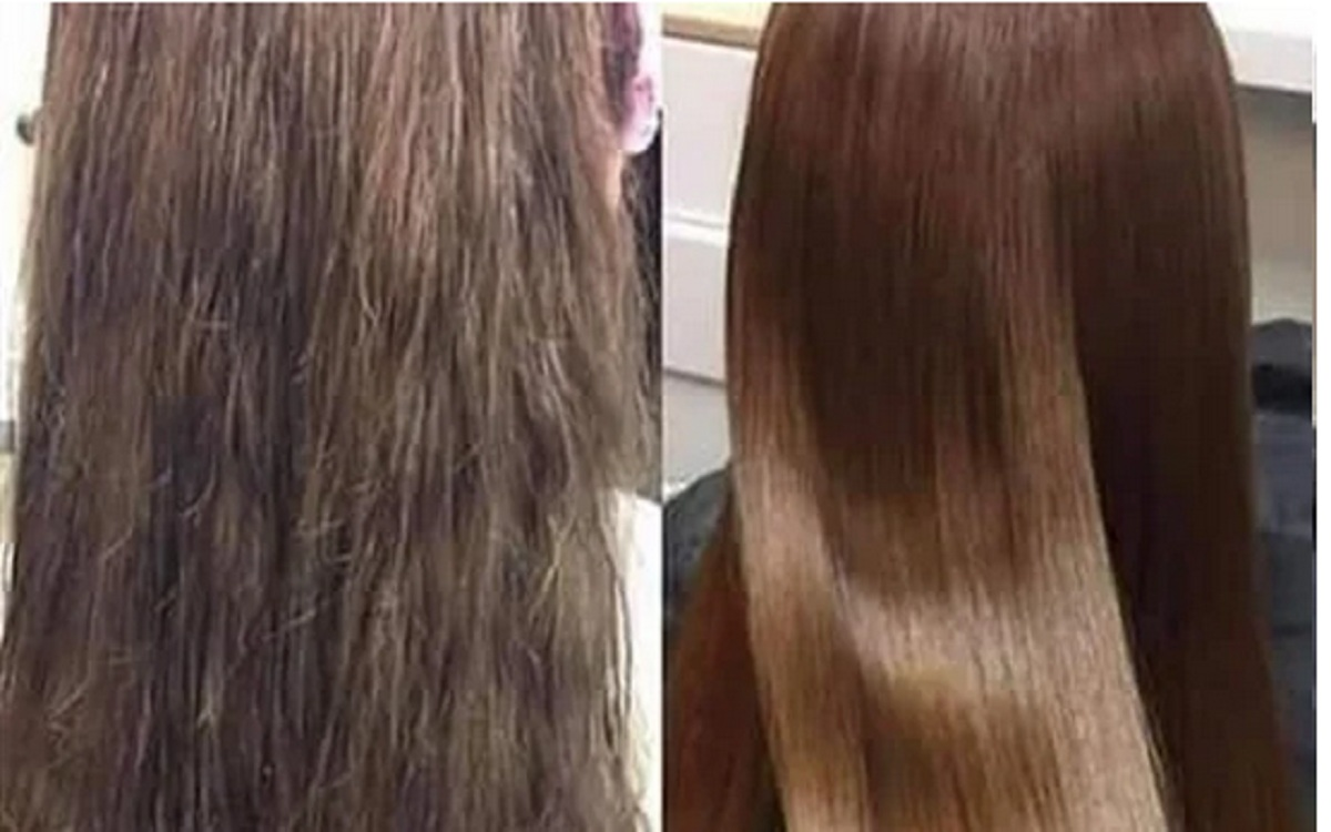 بدون كوافير.. وصفة طبيعية مذهلة لفرد الشعر بمكونات بسيطة
