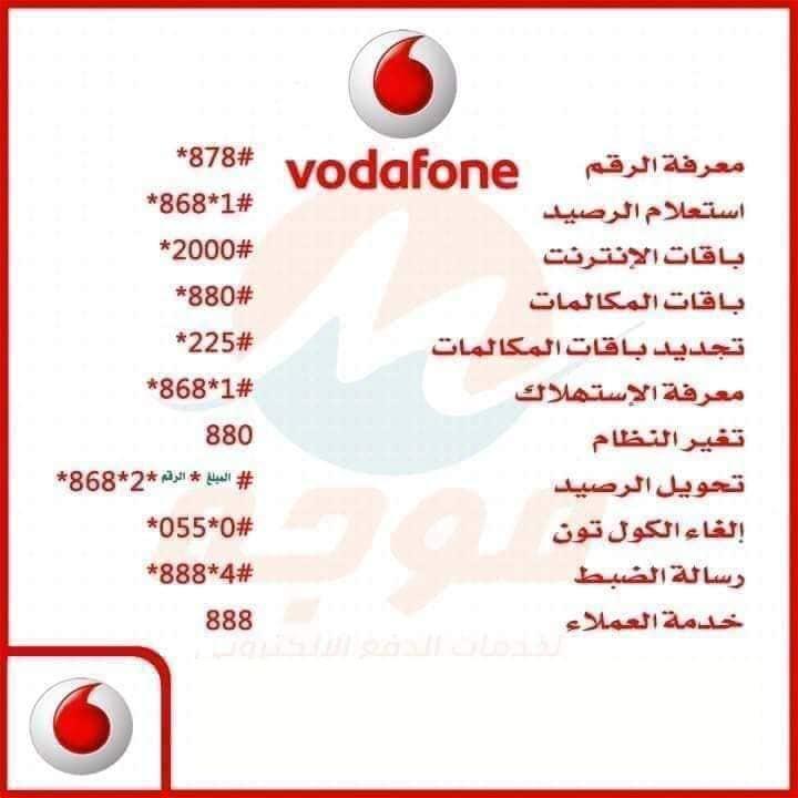 أكواد شركات المحمول العاملة في مصر 4