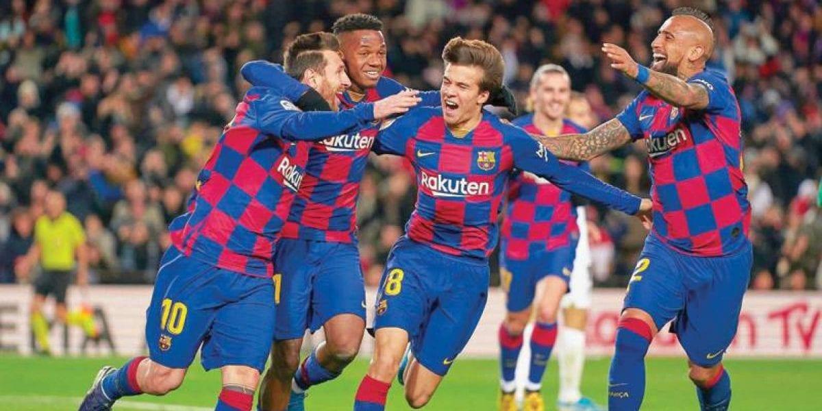 برشلونة يكشف عن قائمته لمواجهة جيرونا