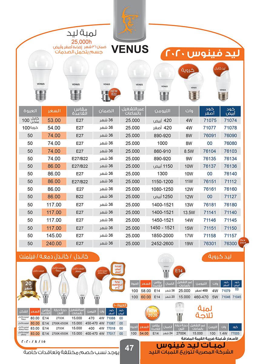 اعرف أحدث عروض فينوس لتشطيب الشقق وحمل كتالوج فينوس 2020 pdf 2