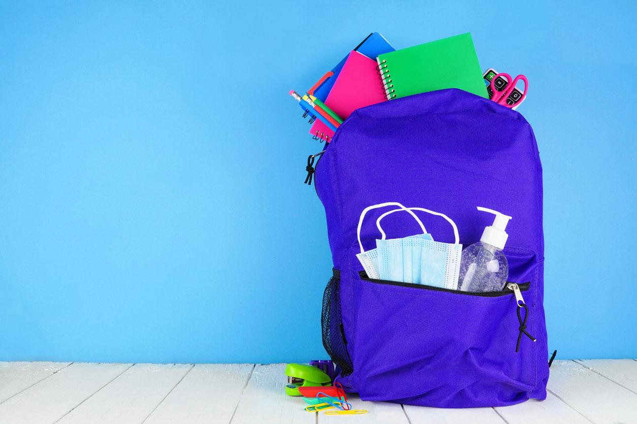 لحماية طفلِك من فيروس كورونا.. 5 أغراض لا غنى عنهم داخل حقيبته المدرسية