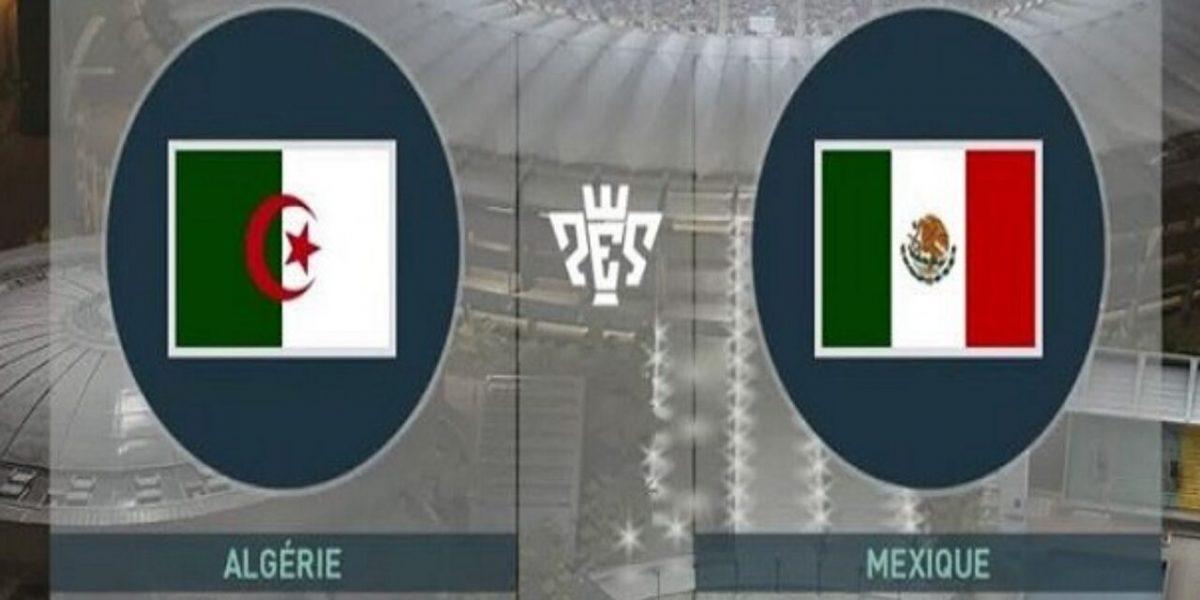 الجزائر تتعادل ايجابيا مع المكسيك