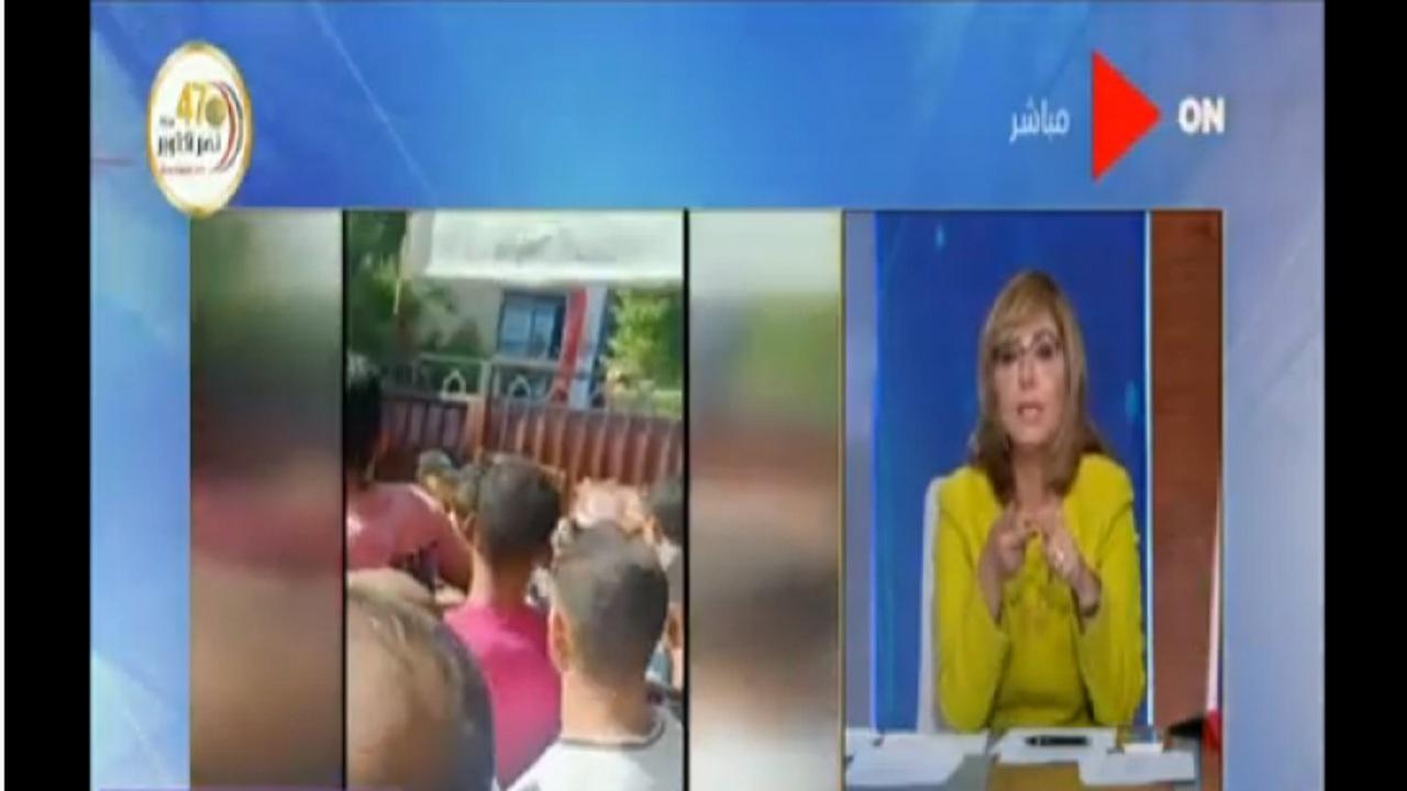 مشهد تجمهر غير آدمي يُثير غضب الإعلامية لميس الحديدي.. فيديو