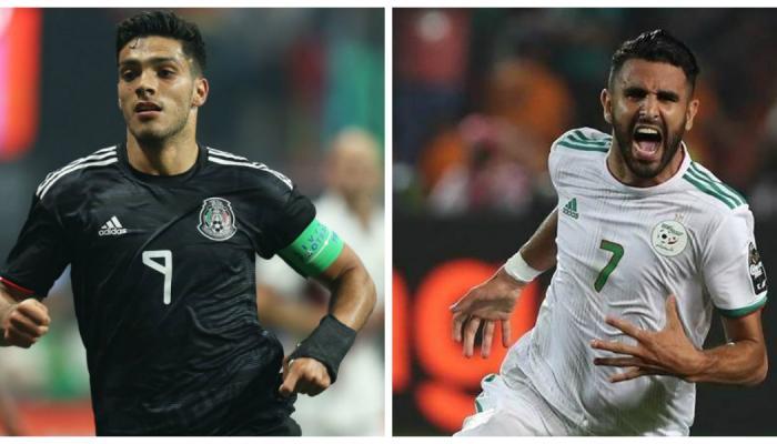 الجزائر تتعادل ايجابيا مع المكسيك 3