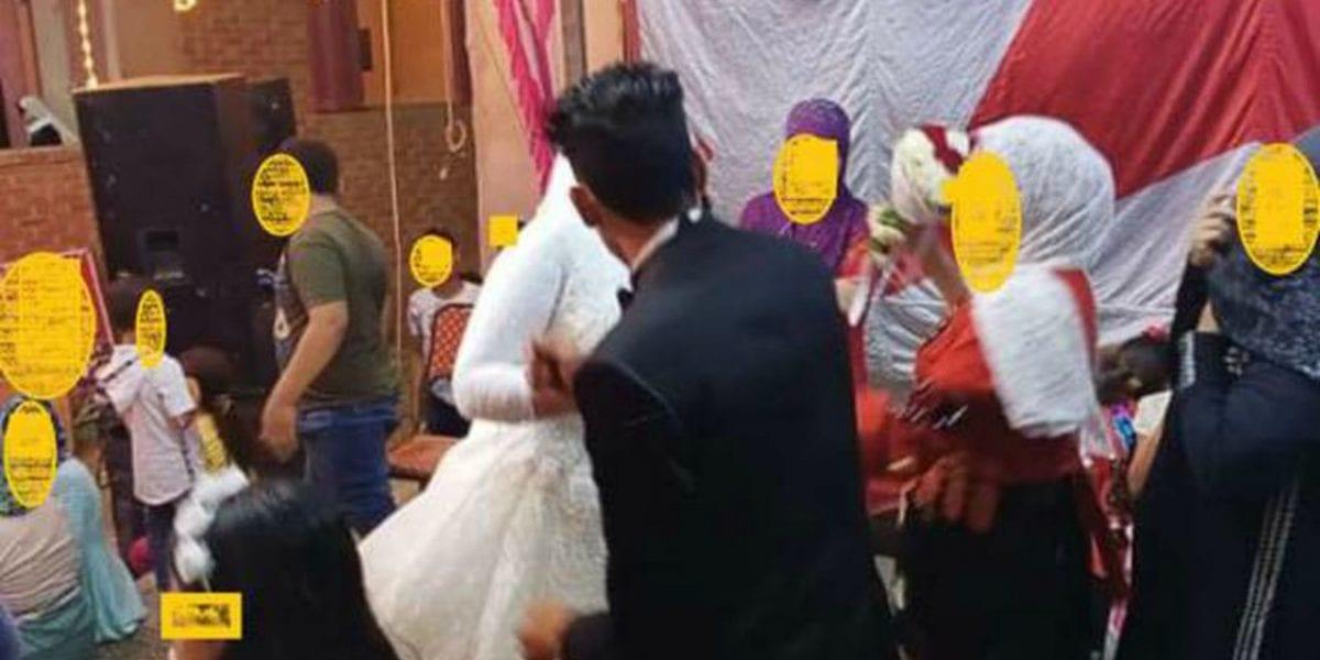 فرح عزبة عفيفي بالدقهلية يتحول إلى فوضى وتصرفات غريبة ..العريس يضرب عروسه ويقطع فستانها