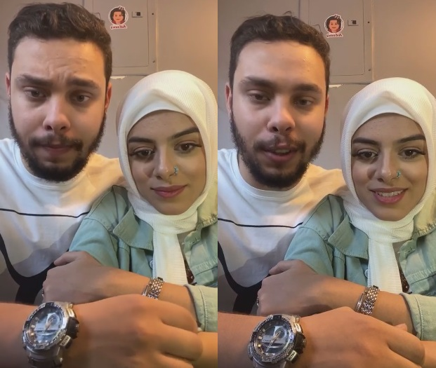 """""""فيديو وصور"""" أحمد حسن وزينب يفتتحان مطعم جديد بالمعادي وزحام شديد وإغماءات والشرطة تتدخل 3"""