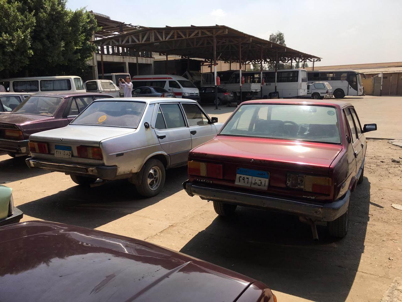 مزاد بيع 120 سيارة مستعملة بالهيئة العربية للتصنيع