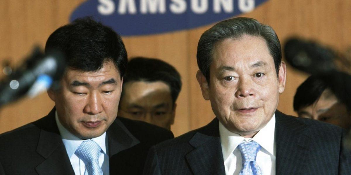 وفاة رئيس شركة سامسونج العالمية .. اعرف تاريخه