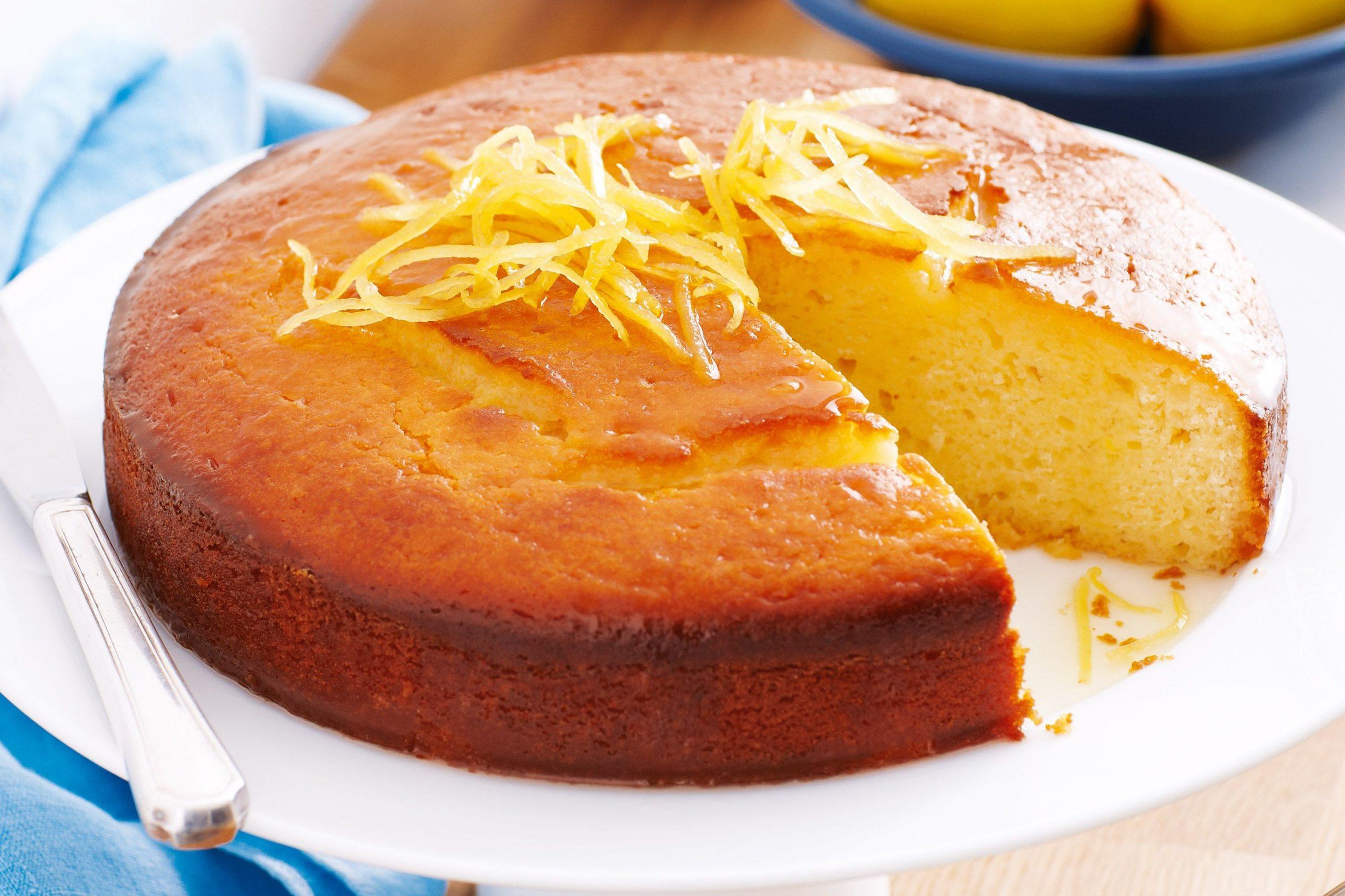 طريقة عمل كيكة البرتقال في المنزل بكل سهولة 1