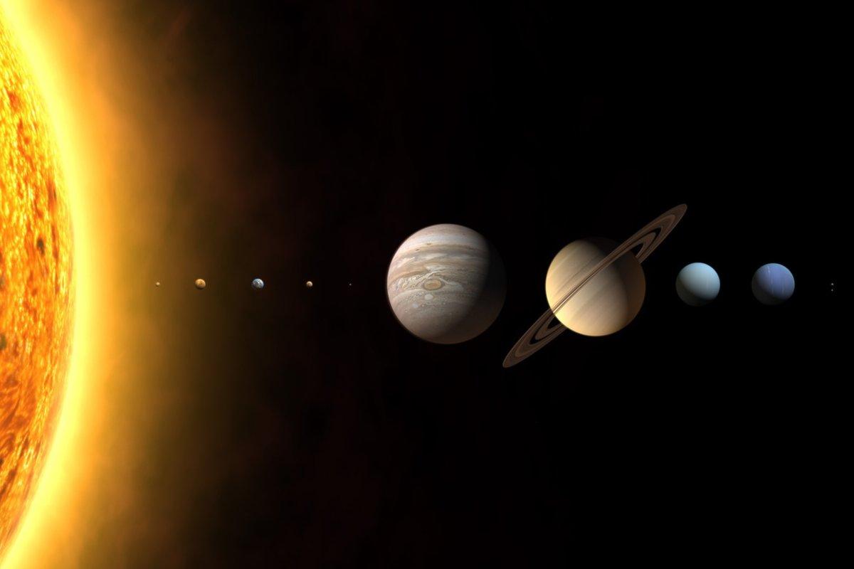 رقصة الكواكب حول الشمس | ظاهرة فلكية غريبة وفريدة 1