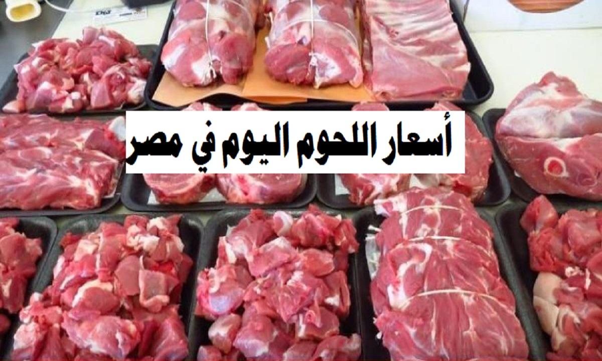 أسعار اللحوم بجميع أنواعها اليوم الأثنين 9/11/2020