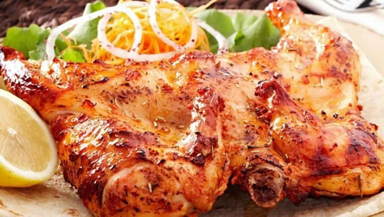طريقة عمل الدجاج المسحب والأرز البسمتى بالكارى 2