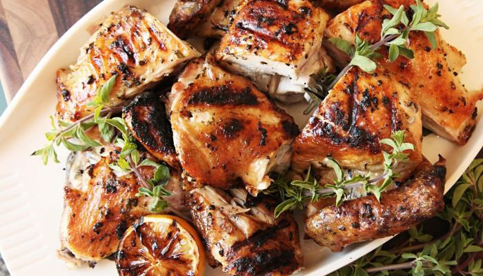 طريقة عمل الدجاج المسحب والأرز البسمتى بالكارى 4