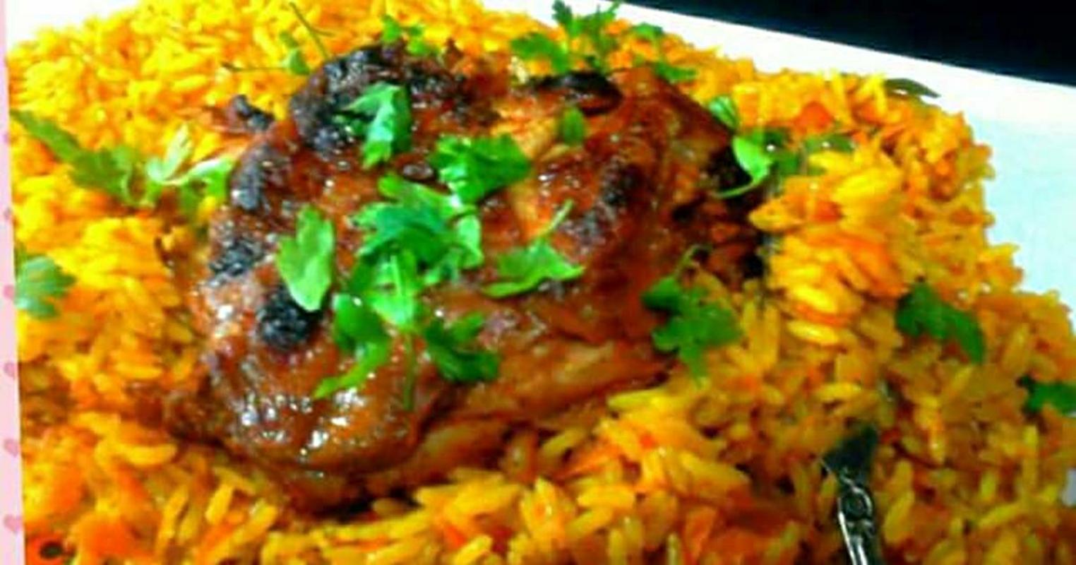 طريقة عمل الدجاج المسحب والأرز البسمتى بالكارى