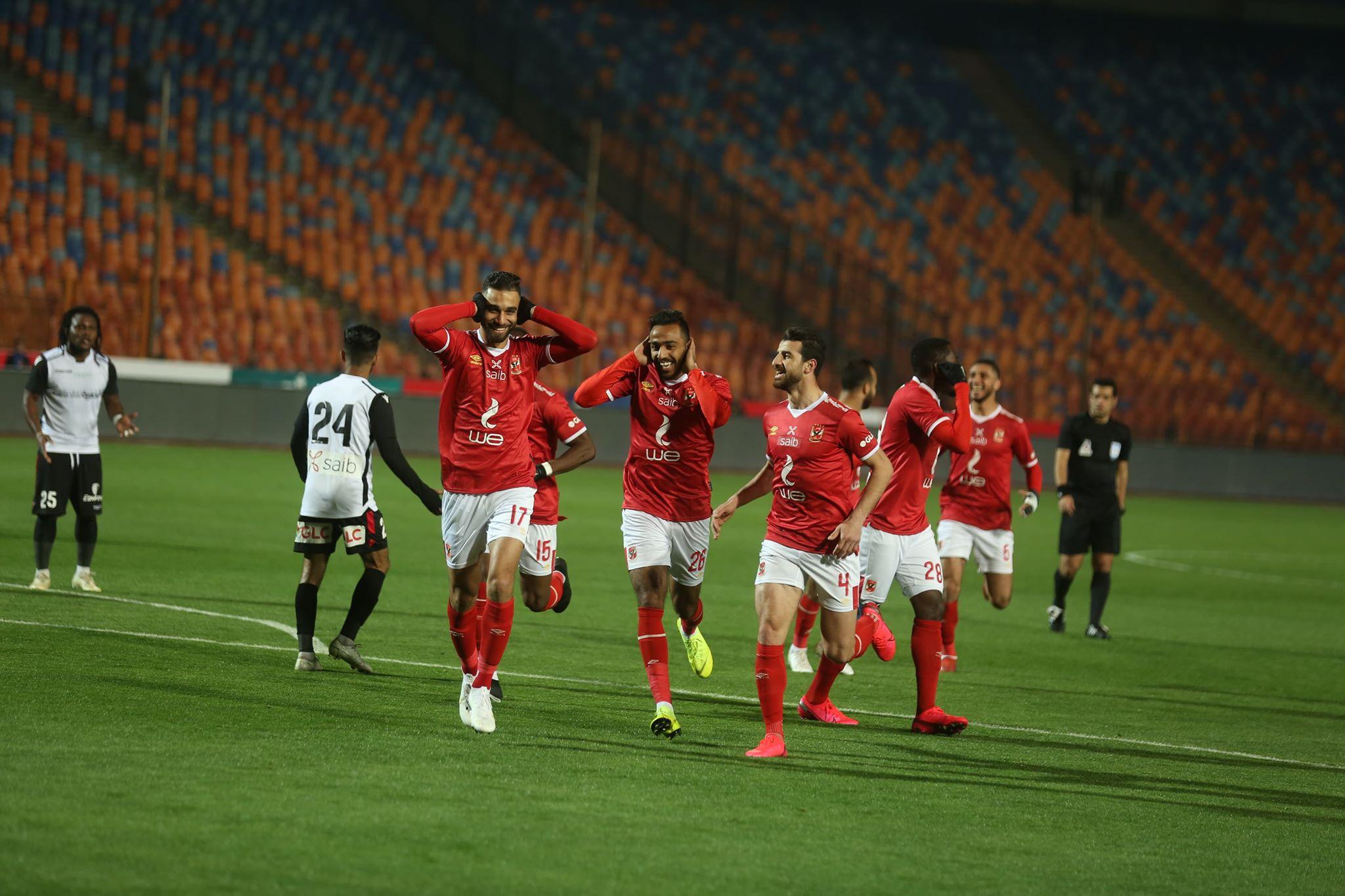 جدول ترتيب الدوري المصري بعد انتهاء مباراة الأهلي وغزل المحلة
