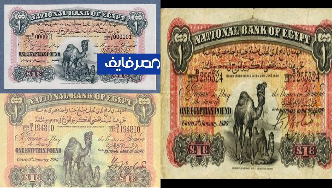 أحد محبي اقتناء العملات القديمة.. سعر الجنية المصري القديم أبو جملين يصل لـ 150 ألف جنيه والشلن الورق بـ45 ألف جنيه