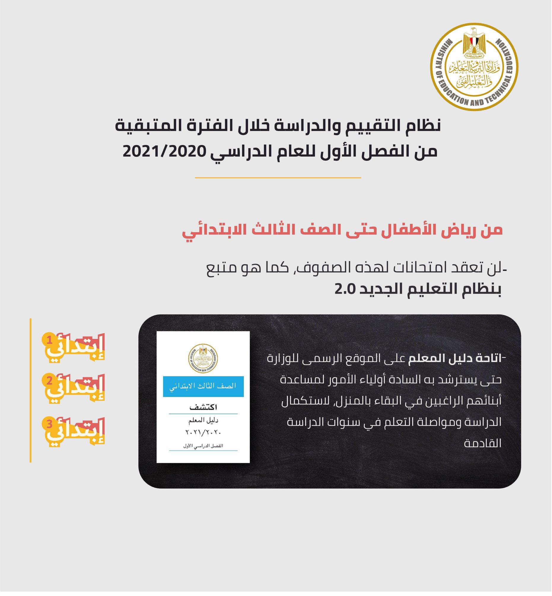وزير التربية والتعليم يصدر 10 قرارات جديدة لاستكمال الدراسة وموعد جديد لبدء امتحانات سنوات النقل 3