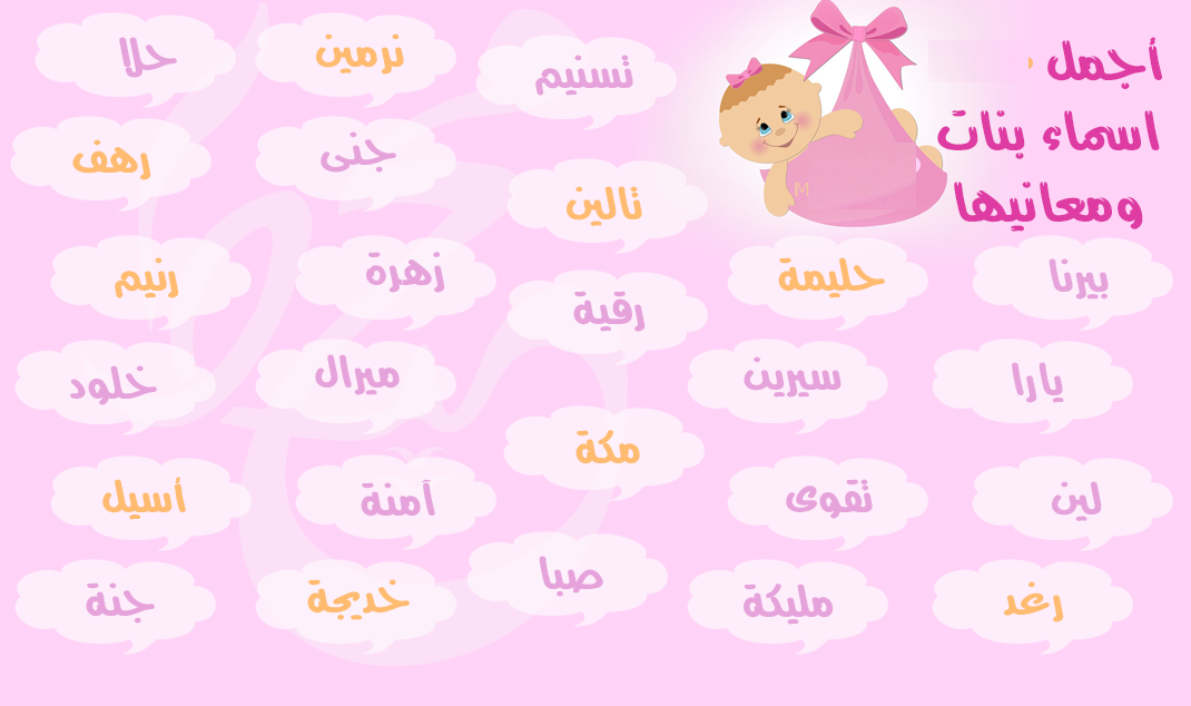 The most beautiful names for girls