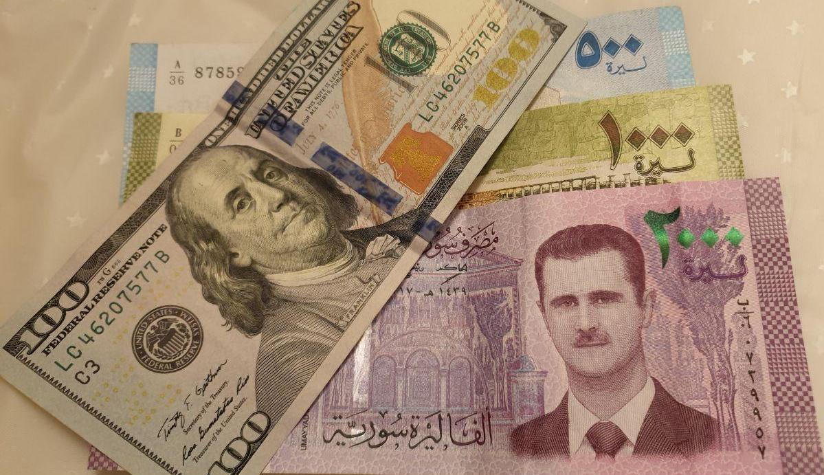 سعر الدولار في سوريا