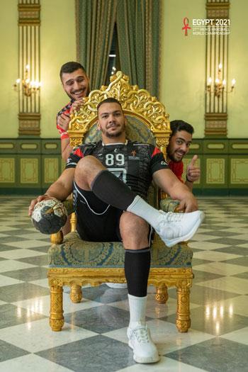 صور لاعبي المنتخب المصري لليد